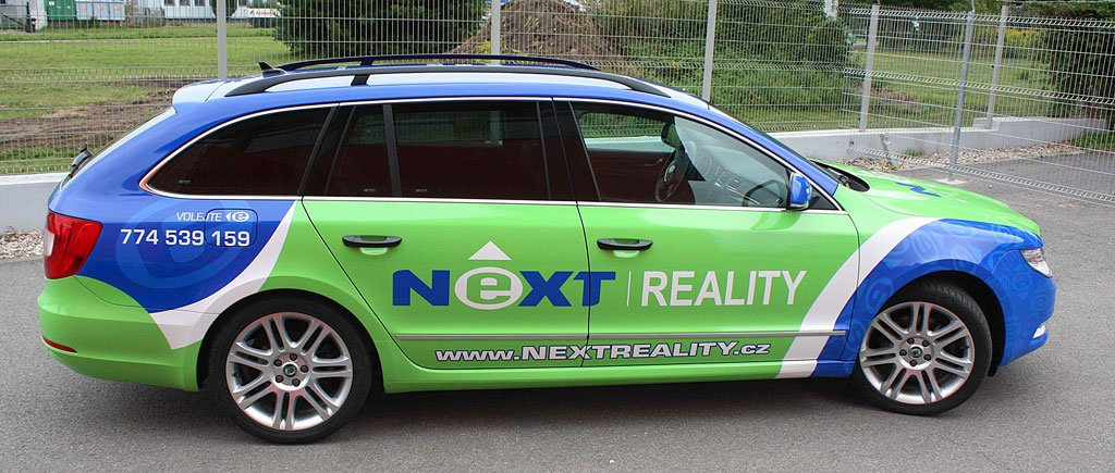 Titulek - NEXT REALITY – celopolep Škoda Superb II