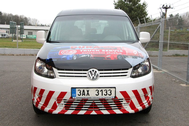 Titulek - Duka assist – celopolep VW Caddy