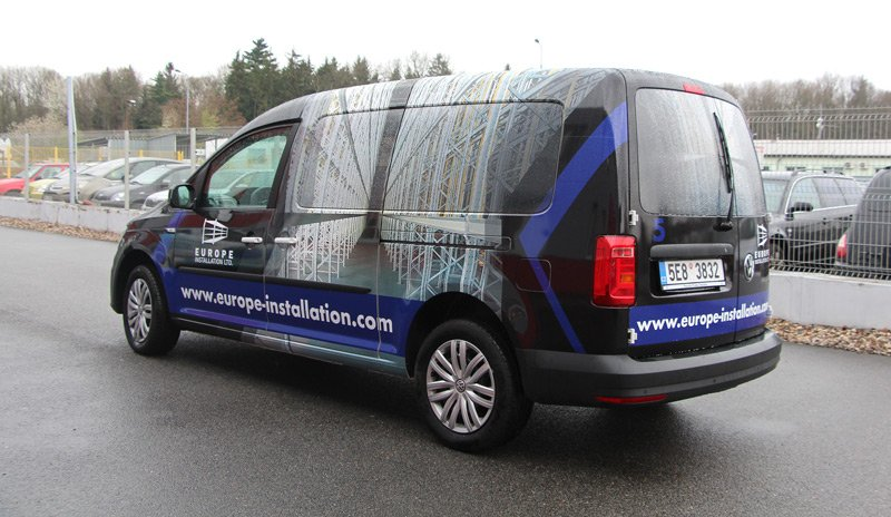 Titulek - Europe Installation – celopolep VW Caddy