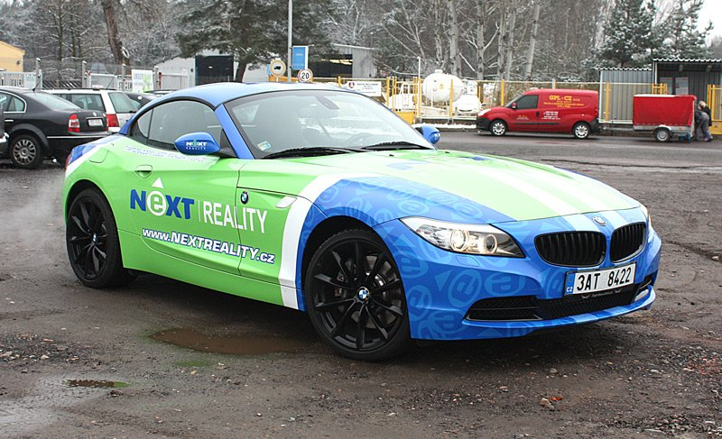 Titulek - NEXT REALITY – celopolep BMW Z4