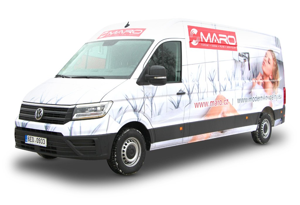 Titulek - MARO – celopolep VW Crafter