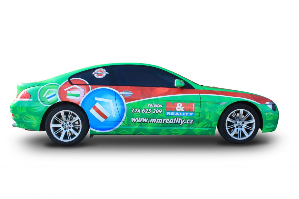 Titulek - M&M reality – celopolep BMW 6