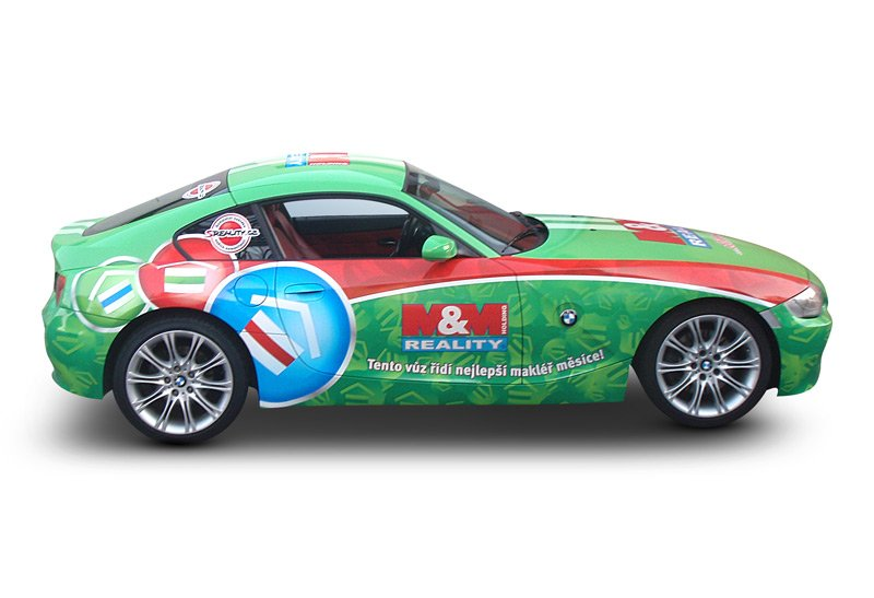 Titulek - M&M reality – celopolep BMW Z4