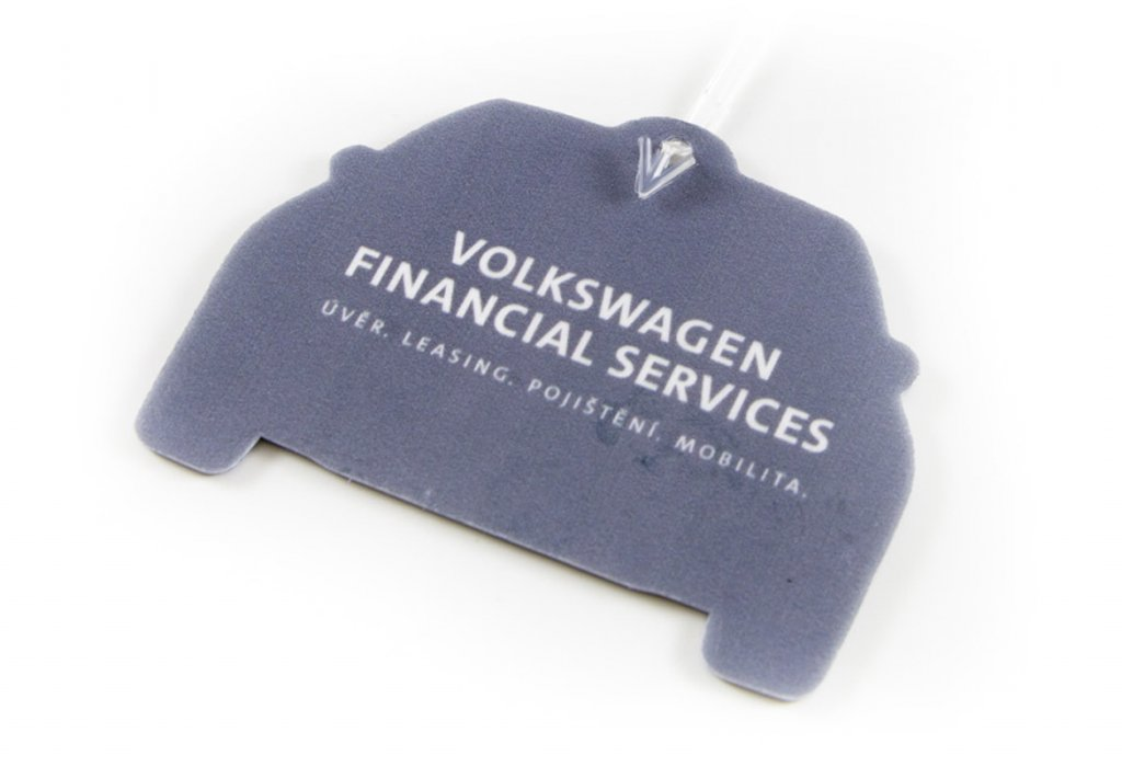 Aromavisačky - Volkswagen financial leasing
