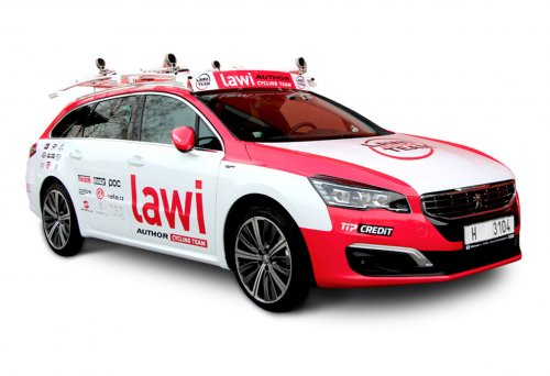 Titulek - LAWI AUTHOR TEAM – celopolep Peugeot 508
