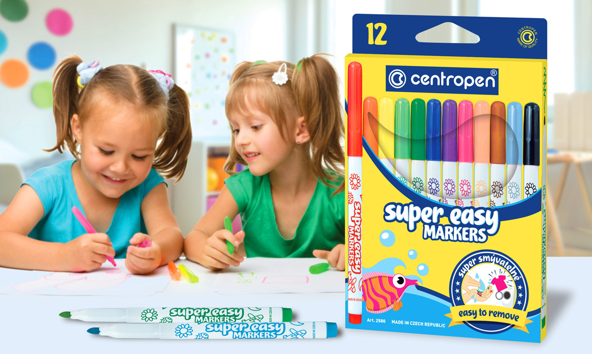Centropen - design obalu Super easy makers